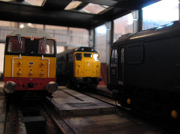 Inside the running shed are a 20, 25 & 31.
